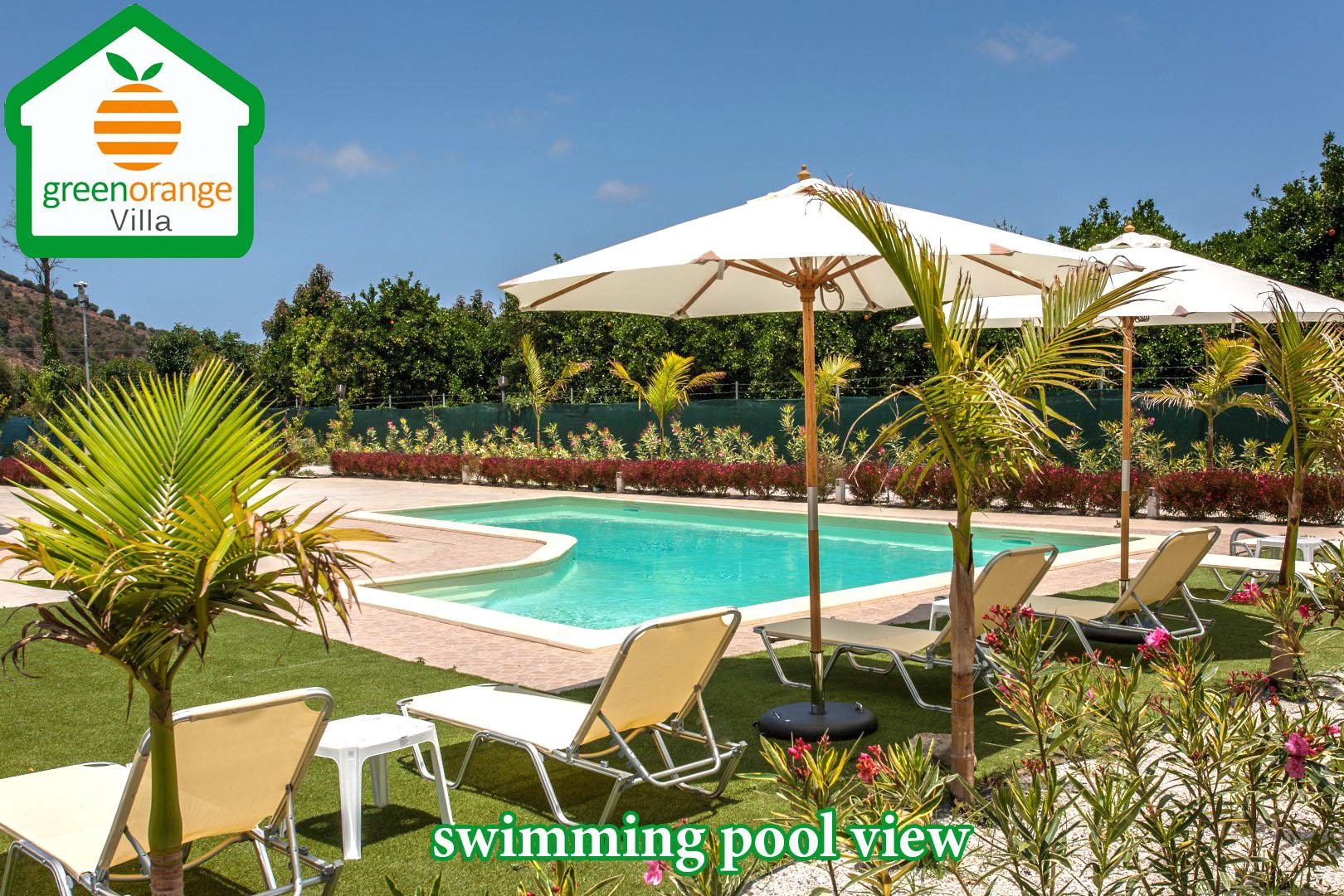 swimming-pool-view-green-orange-villa-Greece-Crete-Chania